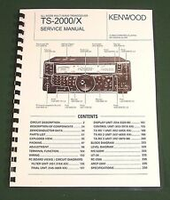 "Kenwood TS-2000 Service Manual: 11""X17"" Color Foldouts & Plastic Covers"