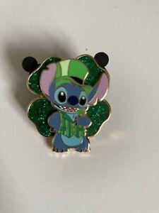 Limited Edition Very Rare St Patricks Day Disney Stitch Pin