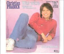 CHRISTIAN FRANKE - Was wäre wenn ...