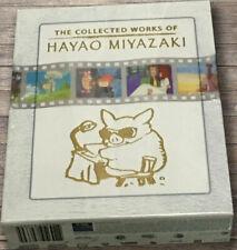 The Collection Works of Hayao Miyazaki Blu-ray Box Set Complete Studio Ghibli