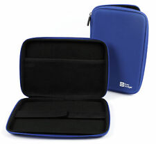 Blue Water-Resistant EVA Hard Armoured 'Shell' Case for Alcatel PLUS 10 Tablet