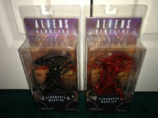 Aliens Genocide NECA 2015 Lot Xenomorph Warrior RED & BLACK! Dark Horse Comics!