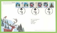 G.B. 2006 Christmas on Royal Mail First Day Cover, Tallents House