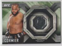 2014 Topps UFC Knockout Daniel Cormier Event Used Mat Relic Card # 83/88 UFC166