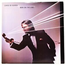 Chris De Burgh Man On The Line LP Vinyl Album 1984 A&M SP 5002 EX