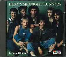 """DEXY'S MIDNIGHT RUNNERS """"Because Of You"""" CD-Album"""