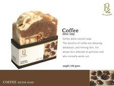 Organic coffee detox soap handmade 100% natural oil deodorant body firming skin