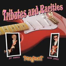 TANGENT TRIBUTES AND RARITIES WITH SHADOWS JET HARRIS AND ALAN JONES RARE CD.