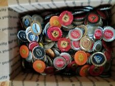 Five pounds of Bottle Caps  Variety of many beer caps.  Already flattened