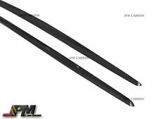 For 14-16 M-Benz W117 CLA45 AMG Sedan Only Carbon Fiber Side Skirt Add-on Cover
