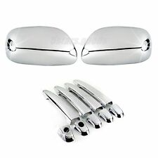 Accessories Chrome Side Mirror + Door Handle Covers For Toyota Camry 2007-2011