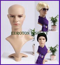 MD Eurotondisplay Dekokopf Perückenkopf Schaufensterpuppe Mannequin männlich