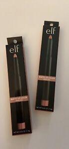 2X elf Matte Lip Color, Praline- Sharpener Included, 0.05 oz ~ NEW