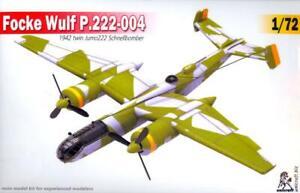 Unicraft Models 1/72 FOCKE WULF P.222-004 German WWII Fast Bomber Project