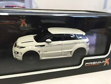 Range Rover Evoque Onyx 2012 1:43 IXO MODEL CAR LIMITED EDITION-PR0273