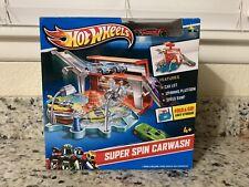 HOT WHEELS® SUPER SPIN CAR WASH FOLD & GO