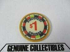 """Rare"" Discovery Cruises $1 Casino Chips Very Nice!"