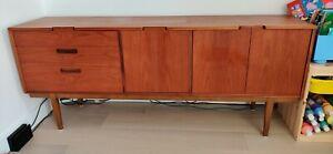 Vintage Teak Mid Century Sideboard Retro