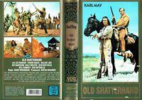 (VHS) Old Shatterhand - Lex Barker, Pierre Brice, Daliah Lavi, Ralf Wolter -1964