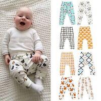 Newest Baby Kids Boys Girls Animal Pattern Harem Pants Trousers Leggings 0-2Y