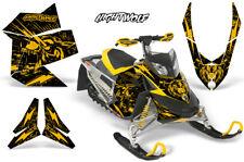 Ski-Doo Rev XP Decal Graphic Kit Sled Snowmobile Sticker Wrap 08-12 NIGHTWOLF Y