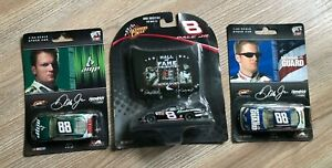 DALE EARNHARDT JR 2006 HALL OF FAME TRIBUTE 1/64 WINNERS CIRCLE CAR plus 2 more