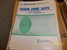Queen Anne Suite Gordon 1970 School Orchestra full Sheet music arrangement