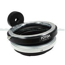 FOTGA Tilt Canon EOS EF Lens to Sony E-Mount NEX3 NEX5 NEX-7 NEX-5N VG10 Adapter