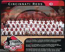 2002 CINCINNATI REDS BASEBALL 8X10 TEAM PHOTO PICTURE