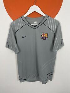Men's Nike Barcelona Training Shirt Kit Top Jersey Grey UK Size S Small