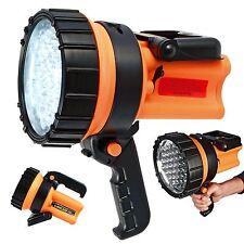 37 LED RICARICABILE lanterna lavori torcia 1 Milione di Candela Potenza Spotlight