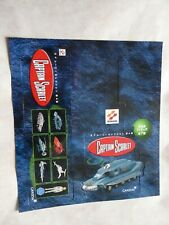 CAPTAIN SCARLET - KONAMI   PACK BOX SHEET
