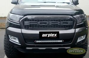 FORD RANGER 2015> T6/T7 PX2,3 - Headlamp Protectors / Guards TINTED - VC28FO0521
