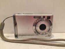 Sony Cyber-Shot DSC-W80 7.2MP Digital Camera Silver TESTED