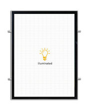 Magnetic Backlit Illuminated LED Poster Frame (Double-Side - 16 in x 20 in)