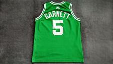 NBA Boston Celtics Basketball Jersey Shirt Champion Kevin Garnett #5 size M