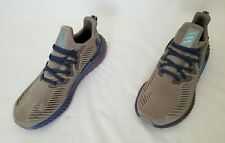 Mens Size 10.5 Dove Grey Adidas Alphaboost Running Sneakers EG1440