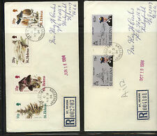 St   Helena    2  registered covers   1984       MS0217