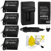 4x AHDBT401 Replacement Battery for Gopro Hero4 and AC/DC Charger