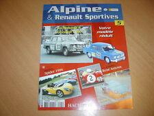 Fascicule Alpine & Renault sportives N° 5