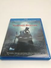 ABRAHAM LINCOLN VAMPIRE HUNTER  2 DISC SET VIEWED ONCE PRIVATE COLLECTION