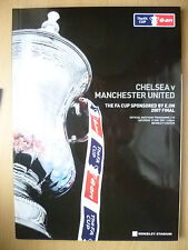 2007 FA CUP FINAL- CHELSEA v MANCHESTER UNITED.