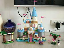 PRINCESS CASTLE Model Building Tower Toy & Mini-figure Assemble Brick Toy w/Box