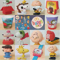 McDonalds Happy Meal Toy 2015 Charlie Brown Snoopy Lucy Patty Toys - Various