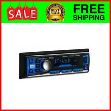 BOSS Car Stereo Receiver Audio Bluetooth Enabled Single Din USB AUX AM/FM Radio