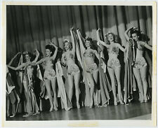 Rita Hayworth, Showgirls in Cover Girl 1944 Original Production Still Photograph