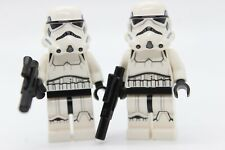 2X Stormtrooper Printed Legs Helmet Vents Weapon 75159 LEGO Star Wars Minifigure