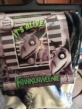 Tim Burton Frankenweenie  Plush Throw Blanket New 46 x 60 NWT