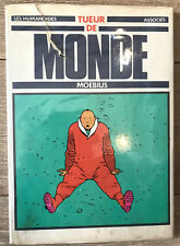 MOEBIUS TUEUR DE MONDE EO 1979 RECUEIL D'ILLUSTRATIONS  (ACCIDENT JAQUETTE)