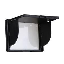 3 Inch Camera LCD Monitor Screen Cover Sun Shade Hood Flexible Protective Case